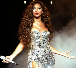Beyonce performs at Madison Square Garden in New York